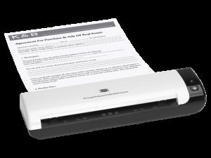 Escáner móvil HP Scanjet Professional 1000 (L2722A)