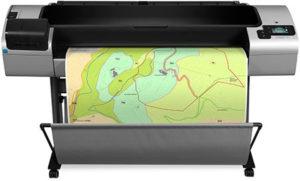 Plotter HP DesignJet serie T1300 PostScript