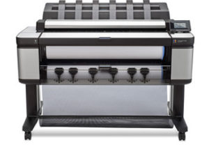 Plotter multifunción de producción HP DesignJet serie T3500